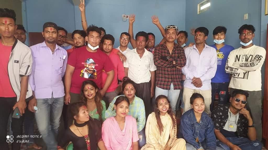 रानाथारू कलाकार समाज गठन